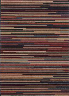 Bild: Streifenteppich Gabiro Des.1728 (Multicolor; 200 x 285 cm)