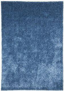 Bild: Gino Falcone Uni Teppich Alessandro (Blau; 80 x 150 cm)