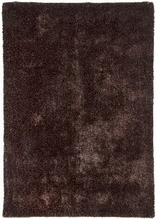 Bild: Gino Falcone Uni Teppich Alessandro (Dunkelbraun; 50 x 80 cm)