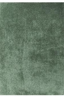 Bild: Hochflor Teppich - Soft Uni (Light Green; 85 x 155 cm)