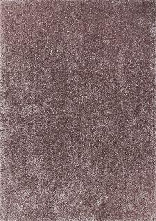Bild: Hochflor Teppich - Soft Uni (Light Brown; 160 x 230 cm)