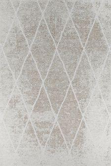 Bild: Vintage Teppich - Fine Lines (Beige; 155 x 230 cm)