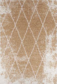 Bild: Vintage Teppich - Fine Lines (Gold; 68 x 130 cm)