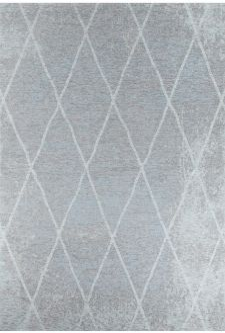 Bild: Vintage Teppich - Fine Lines (Aqua; 80 x 150 cm)