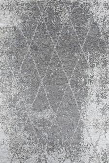 Bild: Vintage Teppich - Fine Lines (Grau; 155 x 230 cm)