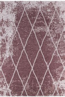 Bild: Vintage Teppich - Fine Lines (Rose; 50 x 80 cm)