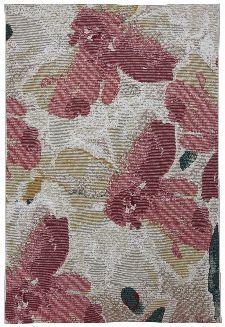 Bild: TOM TAILOR Teppich Garden Blossom (Rosa; 123 x 180 cm)