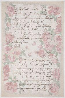 Bild: Romantischer Teppich Flomi Paris (Rose; 60 x 90 cm)
