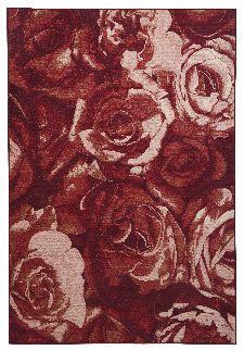Bild: Romantischer Teppich Flomi Paris (Rot; 80 x 150 cm)