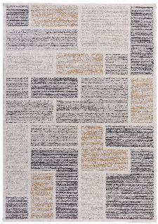Bild: Gino Falcone Teppich Florentine CUBES (Natural; 160 x 230 cm)