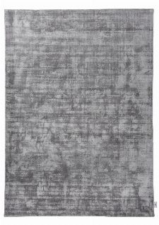 Bild: TOM TAILOR Viskose Teppich - Shine Uni (Grau; 200 x 140 cm)