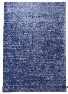 Bild: TOM TAILOR Viskose Teppich - Shine Uni (Blau; 200 x 140 cm)
