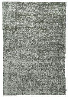 Bild: TOM TAILOR Viskose Teppich - Shine Uni (Dschungelgrün; 135 x 65 cm)