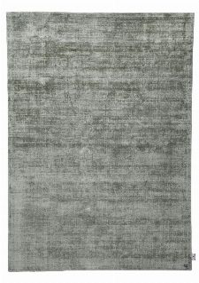 Bild: TOM TAILOR Viskose Teppich - Shine Uni (Dschungelgrün; 200 x 140 cm)