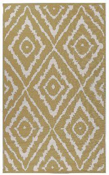 Bild: TOM TAILOR Teppich Garden - Pattern (Gelb; 230 x 160 cm)