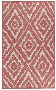 Bild: TOM TAILOR Teppich Garden - Pattern (Rot; 120 x 70 cm)