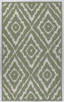 Bild: TOM TAILOR Teppich Garden - Pattern (Grün; 180 x 123 cm)