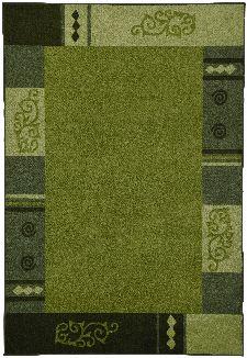 Bild: Bettumrandung Versailles 3082 AUBUSSON (Grün; 67 x 600 cm)
