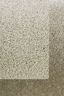 Bild: Schlingenteppich mit Frisee Bordüre Twinset Frame (Beige; 200 x 300 cm)