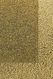 Bild: Frisee Teppich mit Schlingenbordüre Twinset Skyline (Khaki; wishsize)