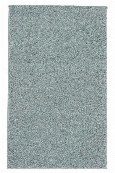 Bild: Kurzflor Teppich Samoa - Uni Design - Silber