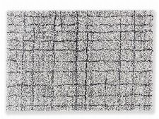 Bild: Astra Hochflor Teppich Savona - Gitter - Grau