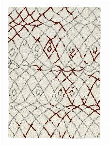 Bild: Astra Hochflor Teppich Rivoli - Marokko - Rot