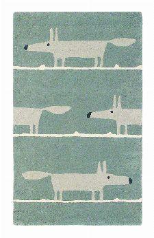 Bild: Teppich Mr Fox - Grau