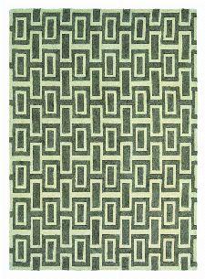 Bild: Retro Teppich Intaglio - Grau