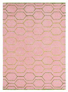 Bild: Retro Teppich Arris - Pink