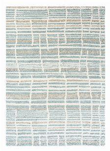 Bild: Florence Broadhurst Designerteppich Tortoiseshell Stripe - Jade