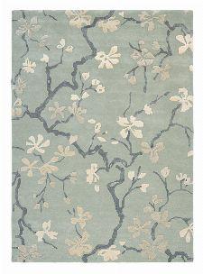 Bild: Sanderson Teppich Anthea 47107 - China Blue