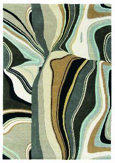 Bild: Teppich Estella Curve - Beige