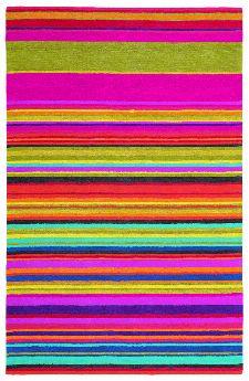 Bild: Streifenteppich Estella Fresh 876800 - Rosa