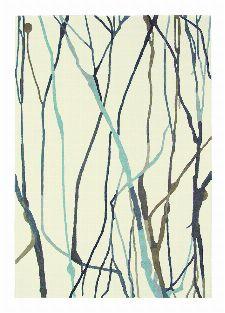 Bild: Designerteppich Estella Drip 878104 - Blau
