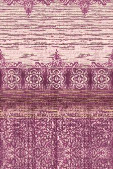 Bild: Eijffinger Tapeten Panel Sundari 375217 - Taj - Burgund