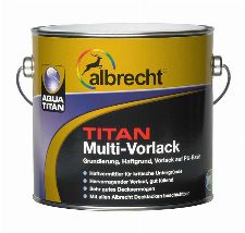 Bild: Aqua Titan Multi-Vorlack - Weiß