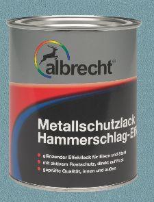 Bild: Metallschutzlack mit HSE - Billantblau