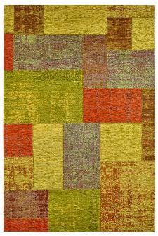 Bild: Jaquard Flachgewebe Teppich - Gent - Ocker
