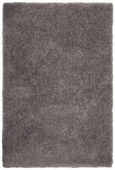 Bild: Weicher Mikrofaserteppich - Paradise - Grau