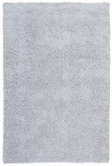 Bild: Weicher Mikrofaserteppich - Paradise - Hellgrau