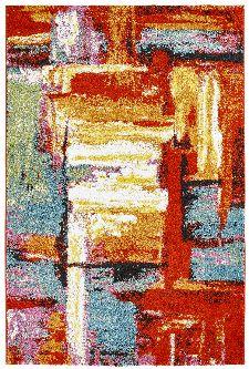 Bild: Kurzflor Teppich - Colourful Arty