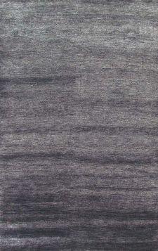 Bild: Bambusfaser Teppich Bamboo - Grau