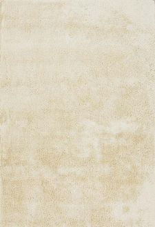 Bild: Veloursteppich Lucca - Vanilla Weiß