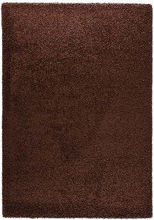 Bild: Teppich Shaggy Basic 170 - Braun