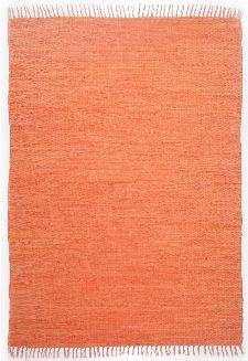 Bild: Teppich Läufer Happy Cotton Uni - Terrakotta