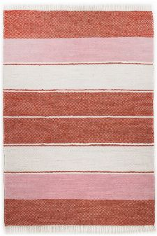 Bild: Webteppich Happy Design Stripes - Rot