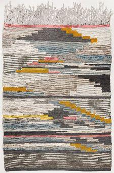 Bild: Berber Teppich Nomadic Design 3912 - Grau Multi