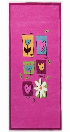 Bild: Kinderteppich Kindergarten MH-3658 - Pink
