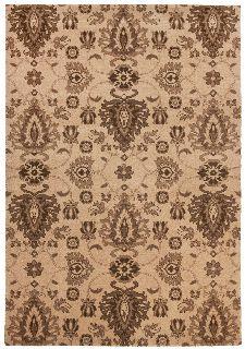 Bild: Ornament Teppich Timeless 001 - Beige